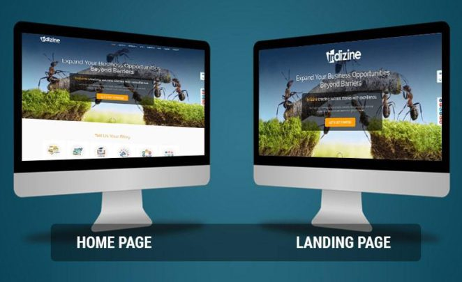 Landing Page vs Home Page, what is Better? Landing Page of course!