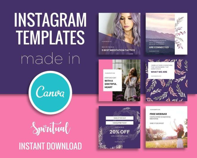 "my article ""Landing Page vs Home Page, What is Better?"" was executed easiliy using Instagram and Canva"