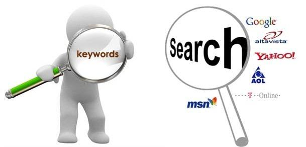 Searching for keywords with a latent semantic indexing tool